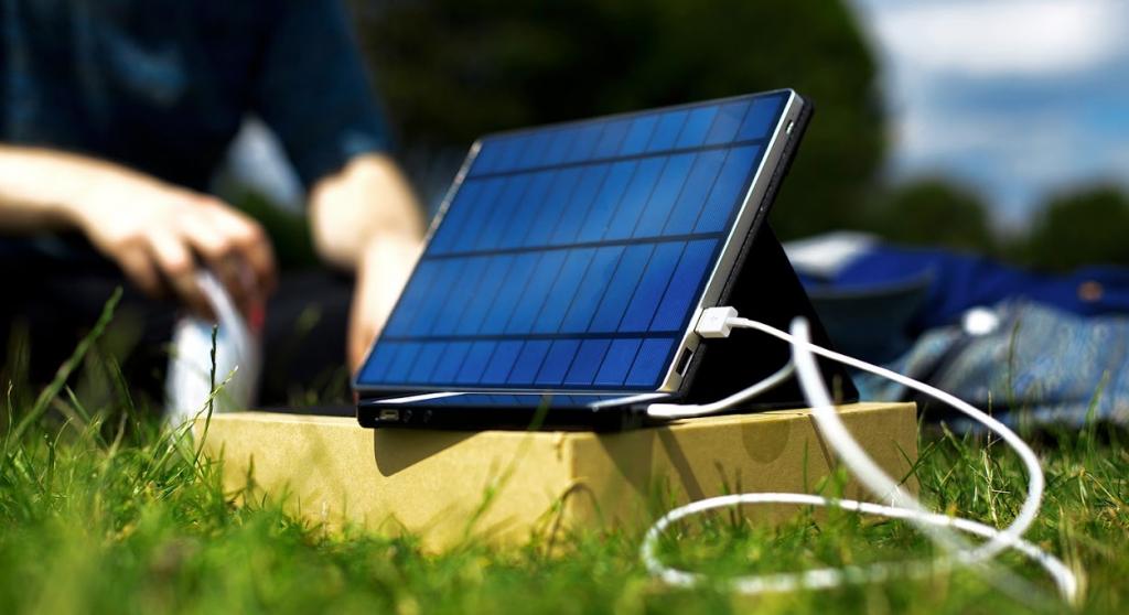 lightweight camping solar panels