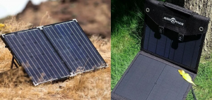 types of portable solar panels